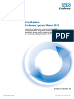 Anaphylaxis+Evidence+Update+March+2013