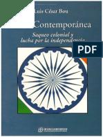 Luis Cesar Bou India Contemporanea