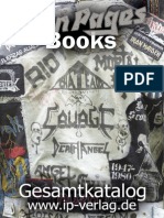 Iron Pages Buch Katalog 2013