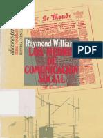 Williams Raymond Los Medios de Comunicacion Social 1971