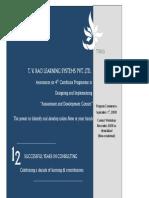 ADC Program Contents
