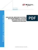 Analisis Mercado Electrico Regional