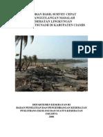 Survei Kesling Bencana Di Pangandaran