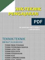 Teknik Mengajar Dan Kbkk