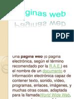 Paginas Web y Redes Sociales (Tics)