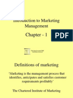 A.introductintrodution of marketing Marketing Planning 1