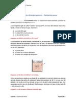 Guia de Ejercicios Propuestos - Sustancias Puras