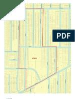 Map of Census Tract 37.00 Census Block 1