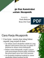 Design Dan Konstruksi Akuaponik