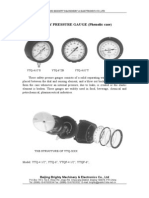 Safety Pressure Gauge