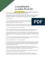 Tpp y Wikileaks sobre Perú