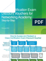 Cisco Cert Exam Discount Vouchers for NetAcad Step-By-Step Feb10