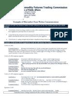 Extracto de conversaciones de traders de ICAP Europe Limited que aparecen en el informe de la CFTC sobre la manipulación del Tibor