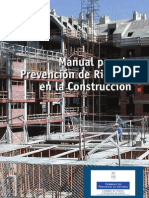 Manual de Prevencion de Riesgos en La Construccion