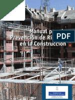 Manual de Prevencion de Riesgos en La Construccion