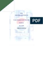 Strategic Management Analysis of PepsiCo