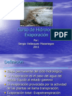 Capitulo 7 evaporacion