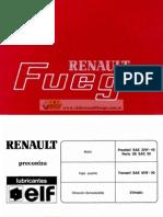 Renault Fuego 1991