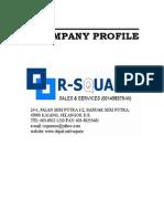 R Square Sales Profile1