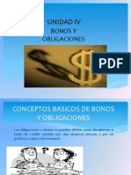 Unidad 4 Bonos y Obligaciones