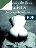 Juliette o Las Prosperidades Del Vicio - Marques de Sade