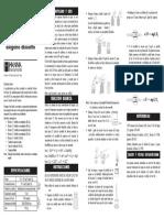 Manual Test Kit Oxigeno Disuelto (Od)