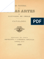 Catalogo Bellas Artes 1896