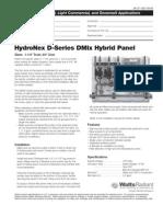 HydroNex Specification D-Series DMix Hybrid Panels