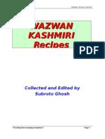 WAZWAN-Kashmiri receipes