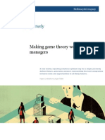 Making Game Theory Work for Manager