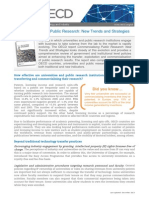Commercialising Public Research