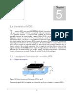 Le transistor MOS