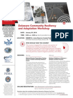 delaware community resiliency workshop flyer