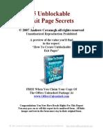 5 Unblock Able Exit Page Secrets