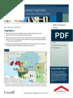 CMHC Rental Market Survey (Vancouver) Fall 2013