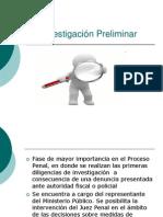 La Investigación Preliminar DPP
