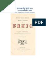 Monografia e Iconografia Del Traje