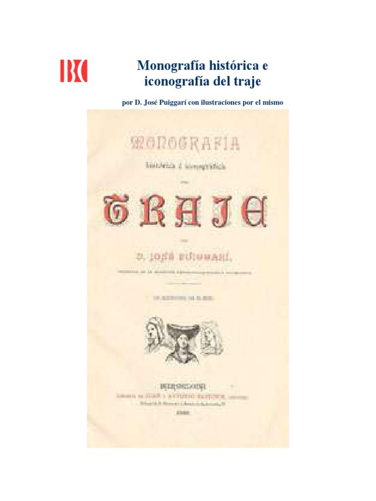 Monografia e Iconografia Del Traje 545db3a1eea