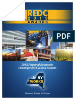 Complete list of awards for regional economic development councils
