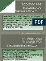 economia mecanizado