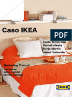 Caso IKEA Publicado por ESADE centro académico dedicado a la investigación y a la formación en el ámbito de la empresa España 2009