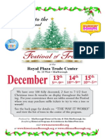 2013 Metrowest Festival of Trees Booklet