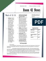 newsletter 15 2013-2014