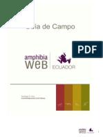 Guia de Campo Anfibios Familia Prov. Guayas
