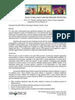 An Alternative Approach to Wellhead Flowline Pressure Protection