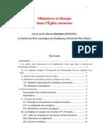 Metzger Ministeres Et Liturgie (1)
