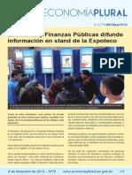 Boletín Economía Plural N° 70
