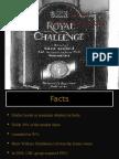 Royal Challenge Brand