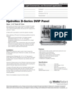 HydroNex Specification D-Series DVIP Panels