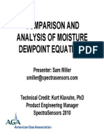 AGA 2011 PPT Comparison of Dewpoint Methods Natural Gas